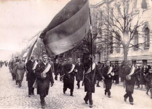 Vilnius, 1934. Iš http://prawo.ug.edu.pl/wydzial/struktura_wydzialu/organizacje/konwent_polonia